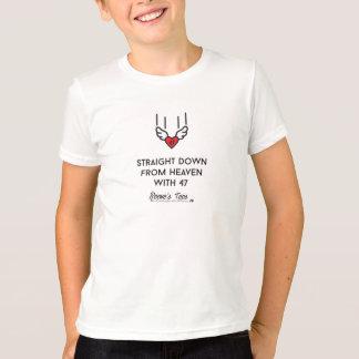 Camiseta Síndrome de Down:  Hetero para baixo do céu com 47