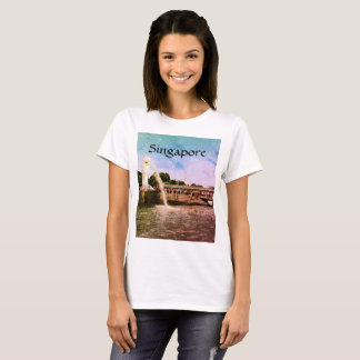 Camiseta Singapore: o tshirt da cidade do leão