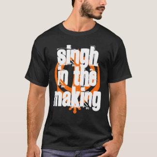 Camiseta Singh no fazer, preto - personalizado