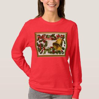 Camiseta Sinos do azevinho e de Natal