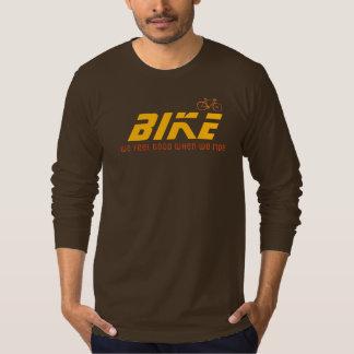 Camiseta sinta bom quando passeio/bicicleta/biking legal
