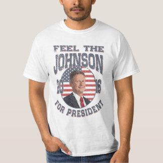 Camiseta Sinta o Johnson
