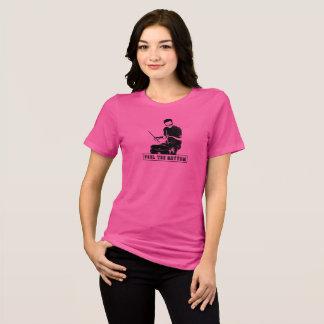 Camiseta Sinta o t-shirt das mulheres do ritmo