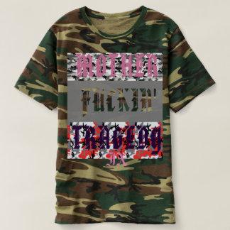 """Camiseta """"Sira de mãe T de Camo do lixo de x TrLr à"""