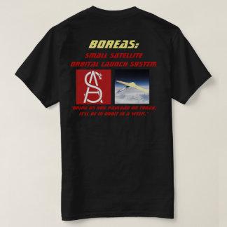 Camiseta Sistema orbital satélite pequeno do lançamento do