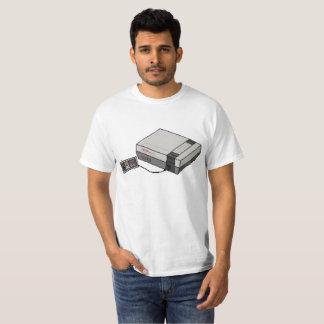 Camiseta Sistema retro NES do entretenimento de Nintendo da