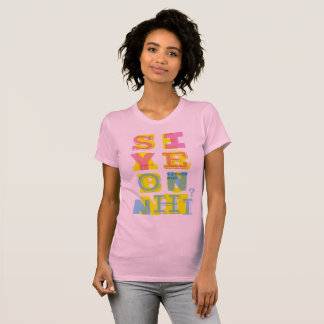 "Camiseta ""SIYEON NHỈ??? ""T-shirt (ver cor-de-rosa)"