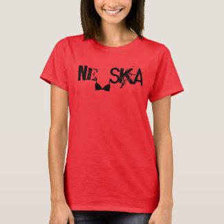 """Camiseta Ska do """"sutiã"""" do Ne"""