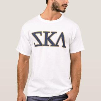 Camiseta Ska (letras gregas da fraternidade)