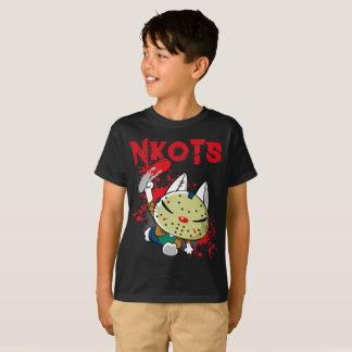 Camiseta Skateboarding assustador da máscara do hóquei