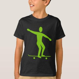 Camiseta Skateboarding - verde de Marciano