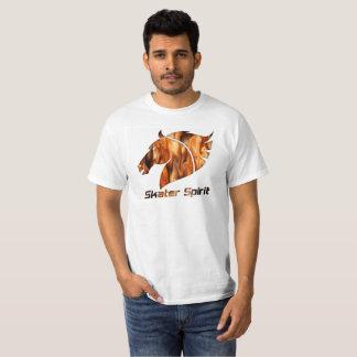 Camiseta Skater alpargata em de Weis com logótipo fogoso