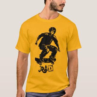 Camiseta Skater do Rad do menino do patinador