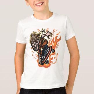 Camiseta Skater extremo de X