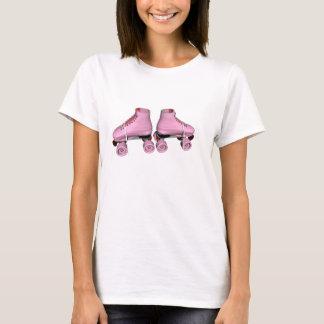 Camiseta skates de rolo pink2