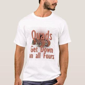 Camiseta Skates do quadrilátero