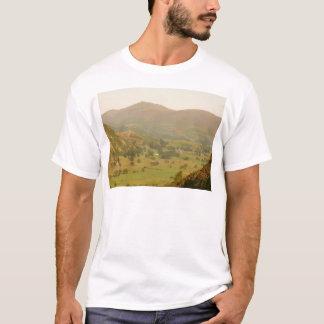 Camiseta Skiddaw e St John no t-shirt do vale