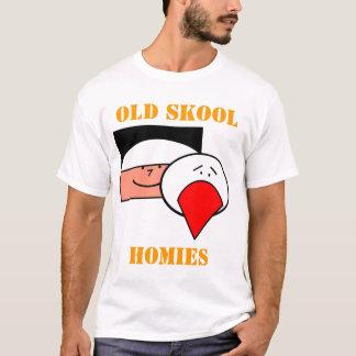 Camiseta Skool velho Homies