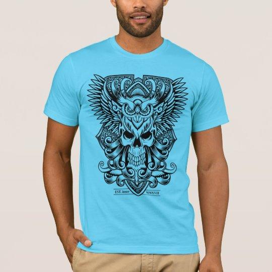 Camiseta Skull and Owl