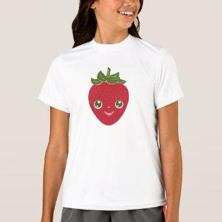 Camiseta Skullberry, morango doce que tem o trapaceiro ido