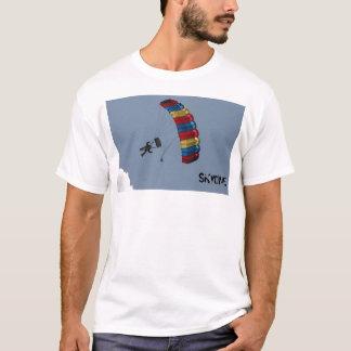 Camiseta skydive-pára-quedas-nuvens, SKYDIVE