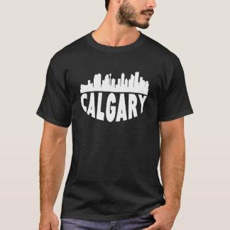 Camiseta Skyline da arquitectura da cidade de Calgary