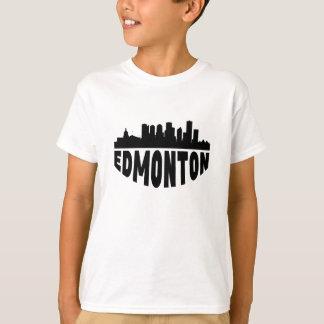 Camiseta Skyline da arquitectura da cidade de Edmonton