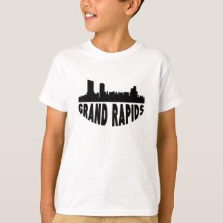 Camiseta Skyline da arquitectura da cidade de Grand Rapids
