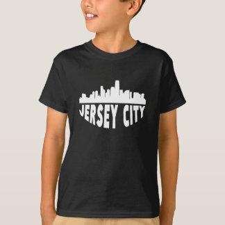 Camiseta Skyline da arquitectura da cidade de Jersey City