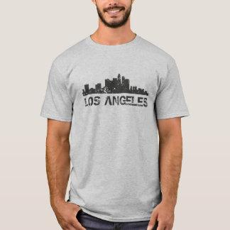 Camiseta Skyline da arquitectura da cidade de Los Angeles