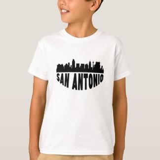 Camiseta Skyline da arquitectura da cidade de San Antonio
