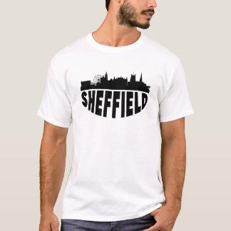 Camiseta Skyline da arquitectura da cidade de Sheffield