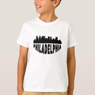Camiseta Skyline da arquitectura da cidade do PA de