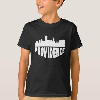 Camiseta Skyline da arquitectura da cidade do providência