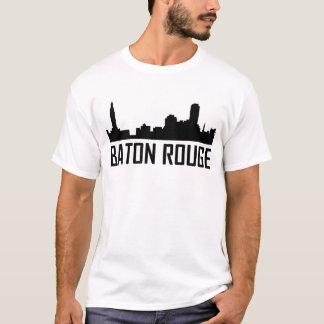 Camiseta Skyline da cidade de Baton Rouge Louisiana