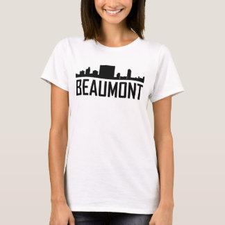 Camiseta Skyline da cidade de Beaumont Texas