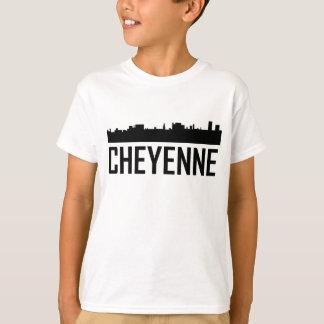Camiseta Skyline da cidade de Cheyenne Wyoming
