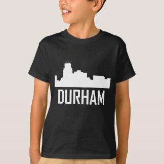 Camiseta Skyline da cidade de Durham North Carolina