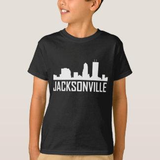 Camiseta Skyline da cidade de Jacksonville Florida