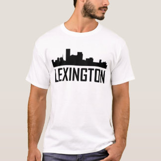 Camiseta Skyline da cidade de Lexington Kentucky