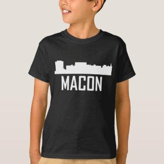 Camiseta Skyline da cidade de Macon Geórgia