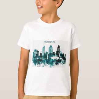 Camiseta Skyline da cidade de Montreal