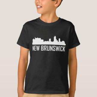 Camiseta Skyline da cidade de Novo Brunswick New-jersey