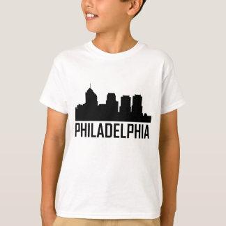 Camiseta Skyline da cidade de Philadelphfia Pensilvânia
