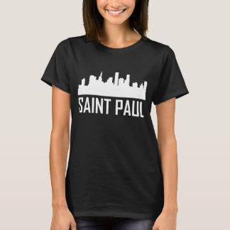 Camiseta Skyline da cidade de Saint Paul Minnesota