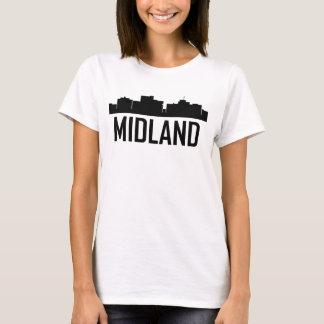 Camiseta Skyline da cidade de Texas do Midland