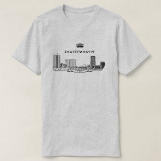 Camiseta Skyline da cidade de Yekaterinburg