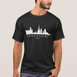 Camiseta Skyline da espanha de Barcelona