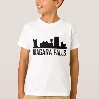 Camiseta Skyline da Nova Iorque de Niagara Falls