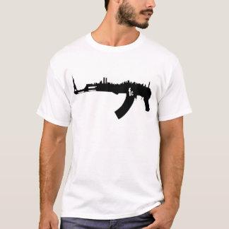 Camiseta Skyline de AK 47 NY